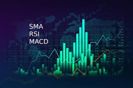 Como conectar o SMA, o RSI e o MACD para uma estratégia de negociação bem-sucedida no Binomo