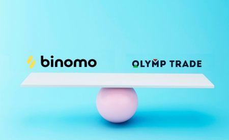 Comparação Binomo e Olymp Trade
