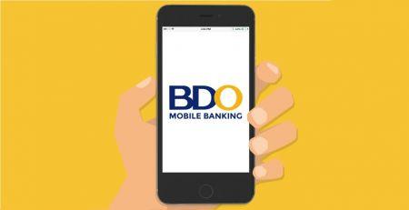 Depositar fundos no Binomo por transferência bancária das Filipinas e carteira eletrônica (BDO, Paymaya, Coins.ph, GrabPay, GCash)