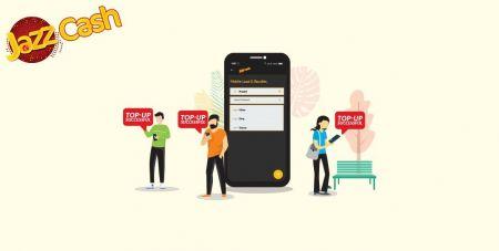 Depositar fundos no Binomo por meio de transferência bancária do Paquistão (Easypaisa SMS, Jazz Cash SMS)