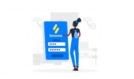 Como fazer login no Binomo