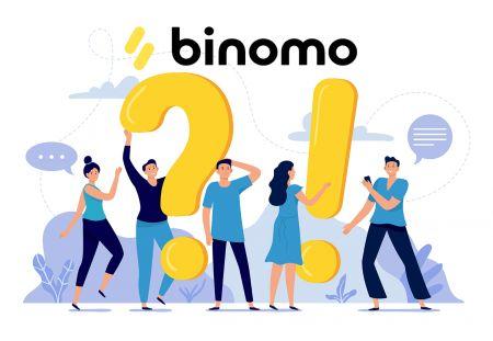 Perguntas frequentes de verificação no Binomo