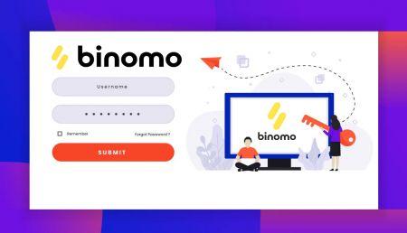 Como abrir uma conta e sacar fundos na Binomo