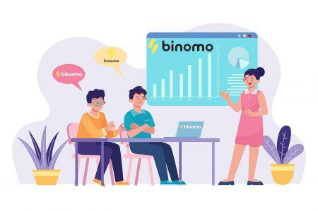 Como se registrar e negociar na Binomo