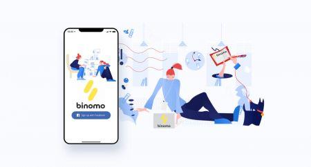Como abrir uma conta de negociação e registrar-se no Binomo
