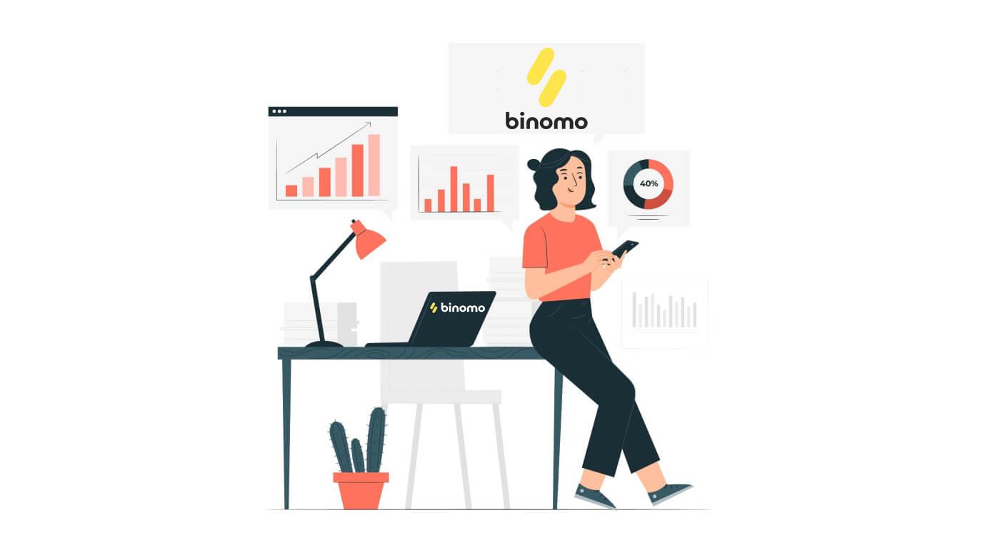 Como depositar e negociar na Binomo