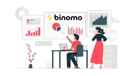 Como se registrar e começar a negociar com uma conta de demonstração no Binomo