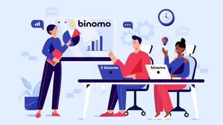 Como fazer login e começar a negociar na Binomo