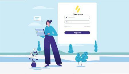 Como fazer login e verificar conta no Binomo
