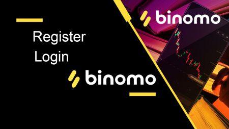 Como registrar e fazer login na conta Binomo