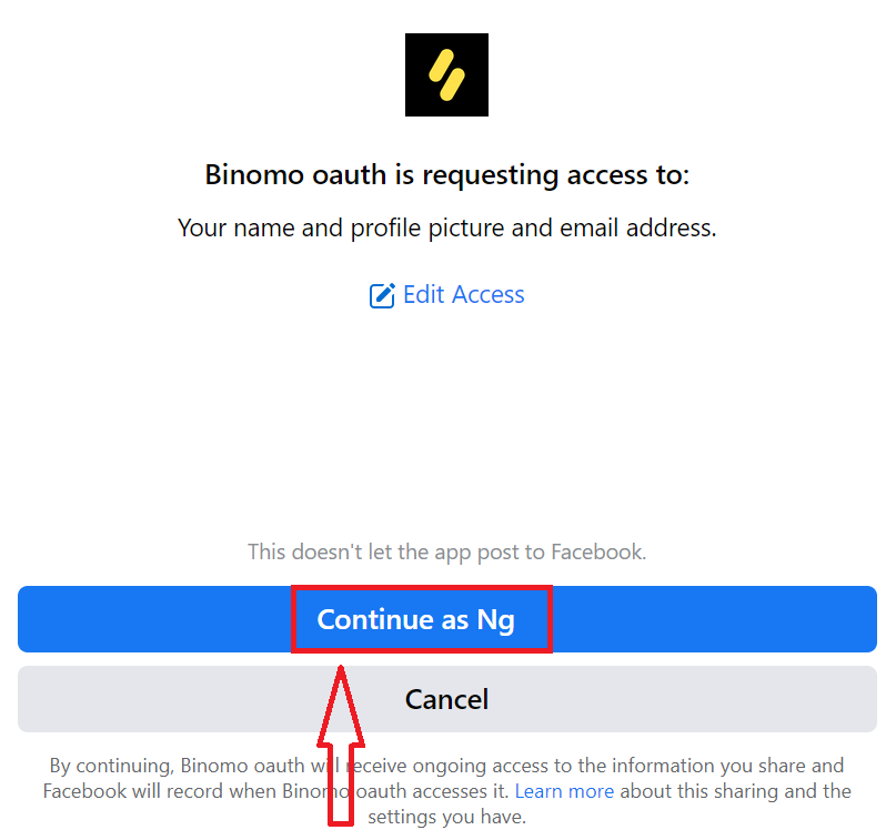 Como abrir uma conta e fazer login no Binomo